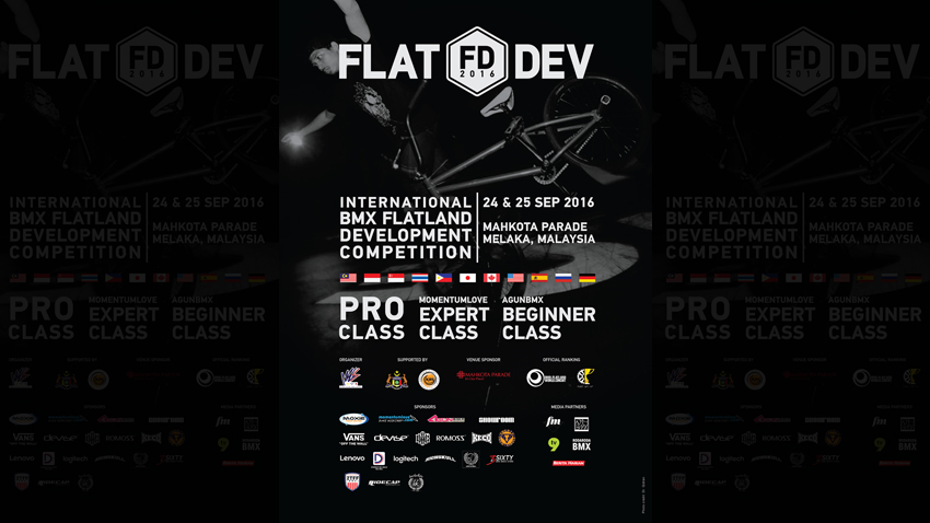 FLATDEV 2016 OFFICIAL POSTER